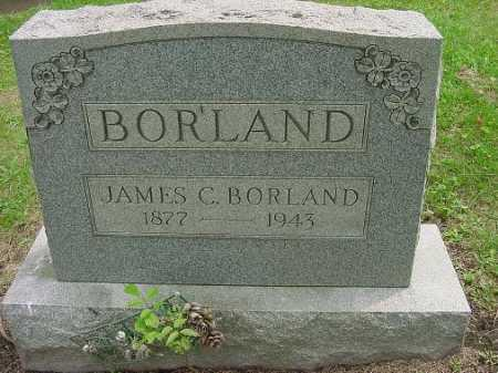 BORLAND, JAMES C. - Harrison County, Ohio | JAMES C. BORLAND - Ohio Gravestone Photos