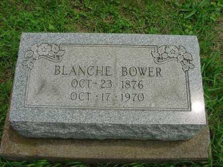 BOWER, BLANCHE - Harrison County, Ohio | BLANCHE BOWER - Ohio Gravestone Photos