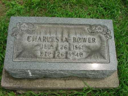 BOWER, CHARLES A. - Harrison County, Ohio | CHARLES A. BOWER - Ohio Gravestone Photos