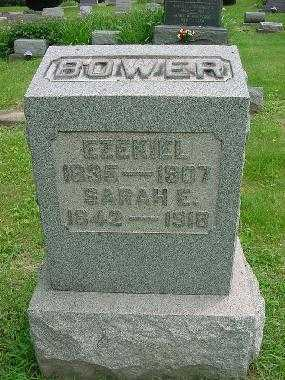 BOWER, SARAH ELIZABETH - Harrison County, Ohio | SARAH ELIZABETH BOWER - Ohio Gravestone Photos