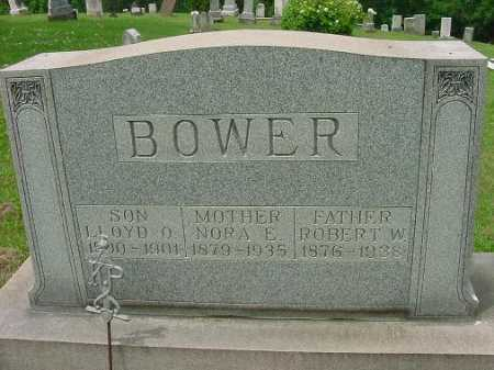 BOWER, NORA E. - Harrison County, Ohio | NORA E. BOWER - Ohio Gravestone Photos