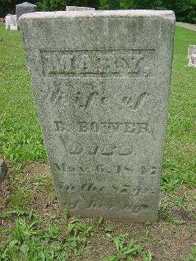 MINNICK BOWER, MARY - Harrison County, Ohio | MARY MINNICK BOWER - Ohio Gravestone Photos