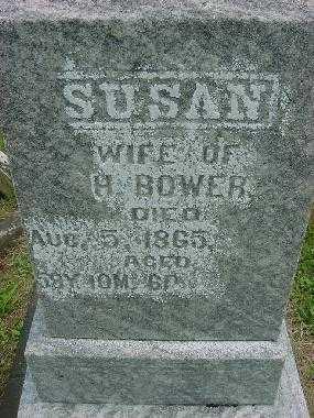 BOWER, SUSAN - CLOSEVIEW - Harrison County, Ohio | SUSAN - CLOSEVIEW BOWER - Ohio Gravestone Photos