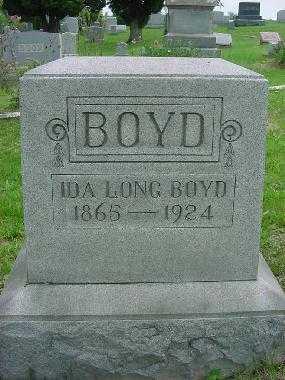 BOYD, IDA LONG - Harrison County, Ohio   IDA LONG BOYD - Ohio Gravestone Photos