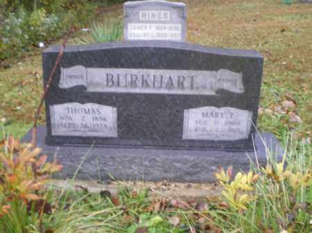 BURKHART, MARY - Harrison County, Ohio | MARY BURKHART - Ohio Gravestone Photos