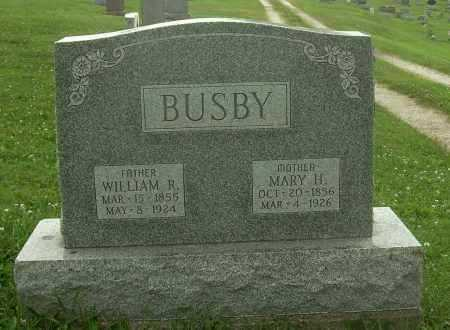 BUSBY, WILLIAM R - Harrison County, Ohio | WILLIAM R BUSBY - Ohio Gravestone Photos