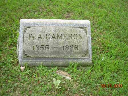 CAMERON, W A - Harrison County, Ohio | W A CAMERON - Ohio Gravestone Photos