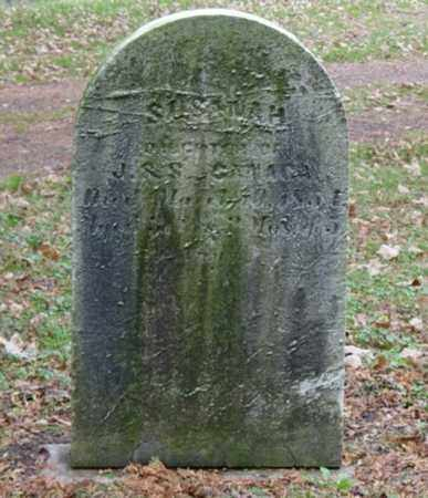 CANAGA, SUSANAH - Harrison County, Ohio | SUSANAH CANAGA - Ohio Gravestone Photos