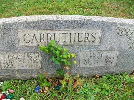 WILLISON CARRUTHERS, LUCY J - Harrison County, Ohio | LUCY J WILLISON CARRUTHERS - Ohio Gravestone Photos