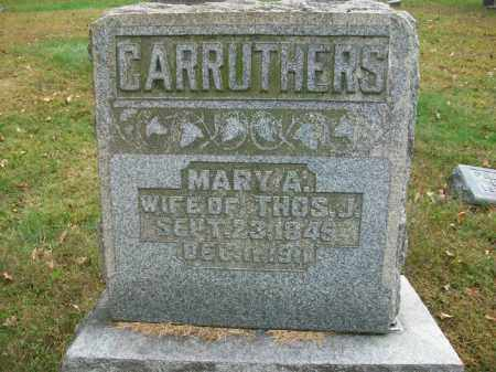 STAHL CARRUTHERS, MARY ANN - Harrison County, Ohio | MARY ANN STAHL CARRUTHERS - Ohio Gravestone Photos