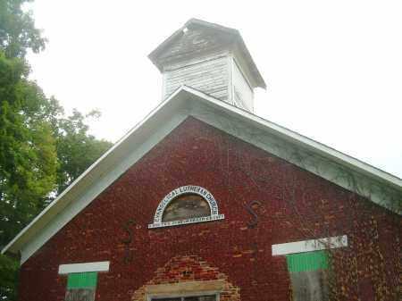 CHURCH, CLOSEUP - Harrison County, Ohio   CLOSEUP CHURCH - Ohio Gravestone Photos