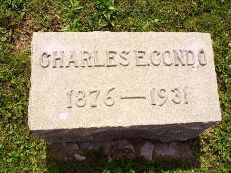 CONDO, CHARLES E. - Harrison County, Ohio | CHARLES E. CONDO - Ohio Gravestone Photos