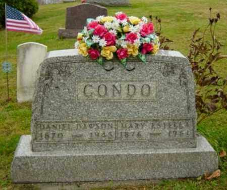 CONDO, DANIEL DAWSON - Harrison County, Ohio   DANIEL DAWSON CONDO - Ohio Gravestone Photos