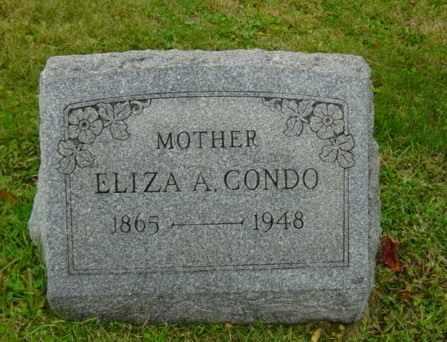 CONDO, ELIZA A. - Harrison County, Ohio   ELIZA A. CONDO - Ohio Gravestone Photos