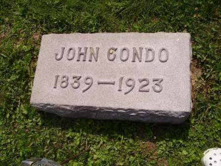 CONDO, JOHN - Harrison County, Ohio | JOHN CONDO - Ohio Gravestone Photos