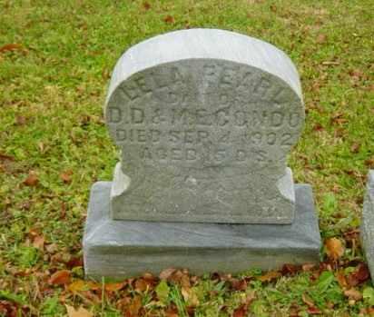 CONDO, LELA PEARL - Harrison County, Ohio   LELA PEARL CONDO - Ohio Gravestone Photos