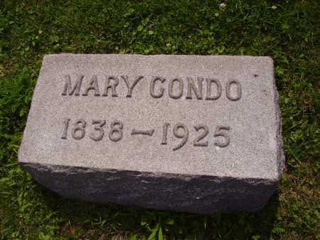 HARMON CONDO, MARY - Harrison County, Ohio   MARY HARMON CONDO - Ohio Gravestone Photos