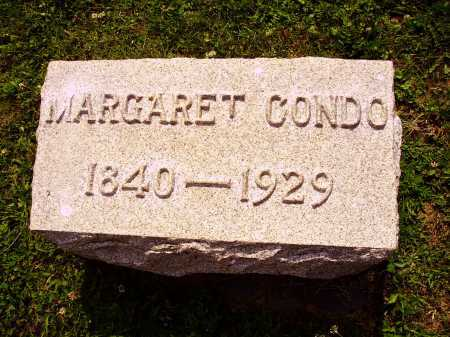 CONDO, MARGARET - Harrison County, Ohio | MARGARET CONDO - Ohio Gravestone Photos