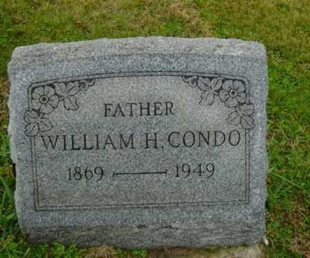 CONDO, WILLIAM H. - Harrison County, Ohio   WILLIAM H. CONDO - Ohio Gravestone Photos