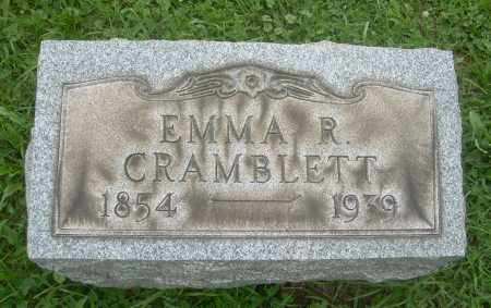 CRAMBLETT, EMMA R - Harrison County, Ohio | EMMA R CRAMBLETT - Ohio Gravestone Photos