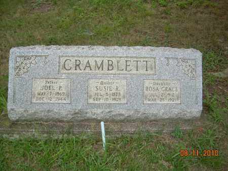 CRAMBLETT, JOEL - Harrison County, Ohio | JOEL CRAMBLETT - Ohio Gravestone Photos