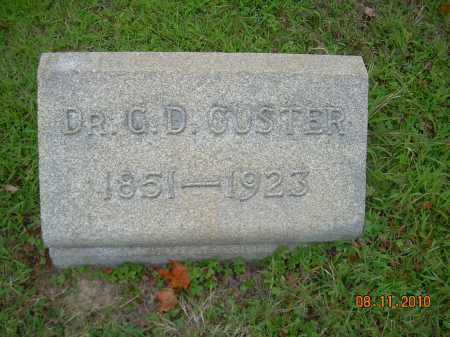 CUSTER, DR GEORGE D, - Harrison County, Ohio | DR GEORGE D, CUSTER - Ohio Gravestone Photos