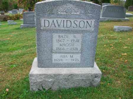 DAVIDSON, MAGGIE - Harrison County, Ohio | MAGGIE DAVIDSON - Ohio Gravestone Photos