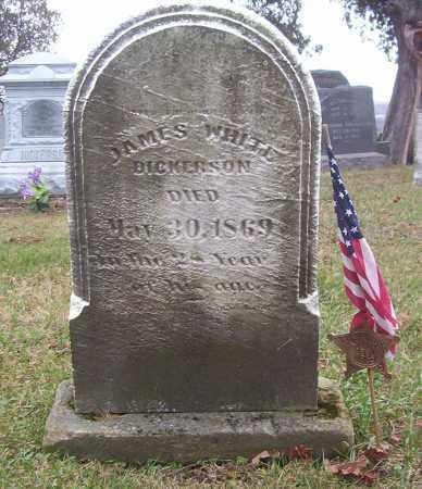 DICKERSON, JAMES WHITE - Harrison County, Ohio   JAMES WHITE DICKERSON - Ohio Gravestone Photos