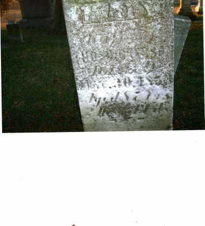 CURRY DICKERSON, MARY - Harrison County, Ohio   MARY CURRY DICKERSON - Ohio Gravestone Photos