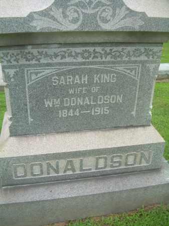 DONALDSON, SARAH - Harrison County, Ohio   SARAH DONALDSON - Ohio Gravestone Photos