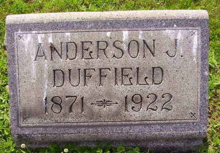 DUFFIELD, ANDERSON J. - Harrison County, Ohio | ANDERSON J. DUFFIELD - Ohio Gravestone Photos