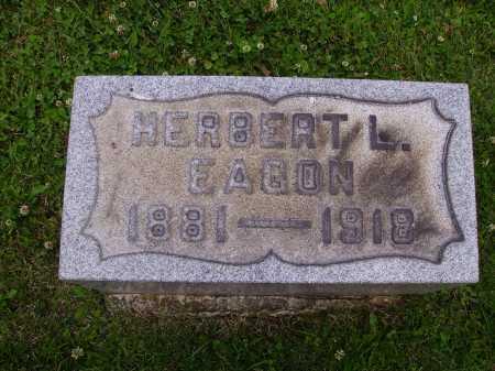 EAGON, HERBERT LAWRENCE - Harrison County, Ohio | HERBERT LAWRENCE EAGON - Ohio Gravestone Photos