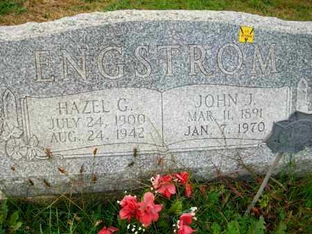 ENGSTROM, JOHN J - Harrison County, Ohio | JOHN J ENGSTROM - Ohio Gravestone Photos
