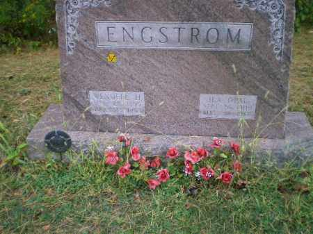 ENGSTROM, ILA OPAL - Harrison County, Ohio | ILA OPAL ENGSTROM - Ohio Gravestone Photos