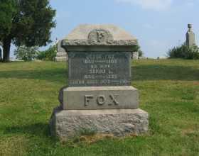 FOX, SARAH LOVINA - Harrison County, Ohio | SARAH LOVINA FOX - Ohio Gravestone Photos