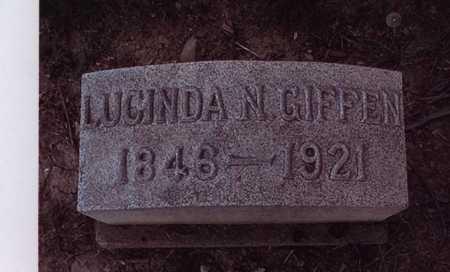 NEFF GIFFEN, LUCINDA - Harrison County, Ohio | LUCINDA NEFF GIFFEN - Ohio Gravestone Photos