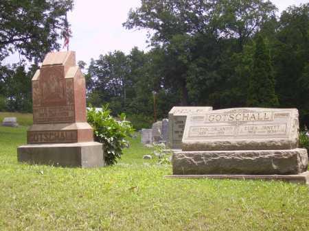 GOTSCHALL, MATTIE J. - OVERALL VIEW - Harrison County, Ohio | MATTIE J. - OVERALL VIEW GOTSCHALL - Ohio Gravestone Photos