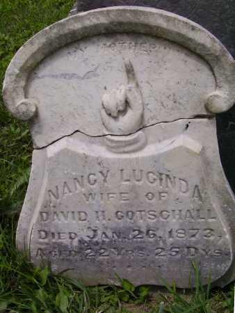 THOMPSON GOTSCHALL, NANCY LUCINDA - Harrison County, Ohio | NANCY LUCINDA THOMPSON GOTSCHALL - Ohio Gravestone Photos