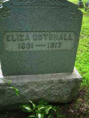 GOTSHALL, ELIZA - Harrison County, Ohio   ELIZA GOTSHALL - Ohio Gravestone Photos