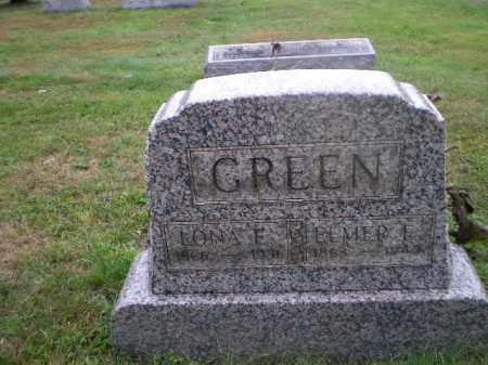 GREEN, LONA E - Harrison County, Ohio | LONA E GREEN - Ohio Gravestone Photos