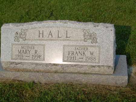 HALL, FRANK W - Harrison County, Ohio | FRANK W HALL - Ohio Gravestone Photos