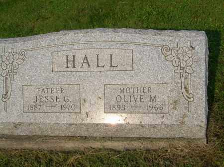 HALL, OLIVE M - Harrison County, Ohio | OLIVE M HALL - Ohio Gravestone Photos