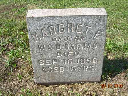 HARRAH, MARGRET E - Harrison County, Ohio | MARGRET E HARRAH - Ohio Gravestone Photos