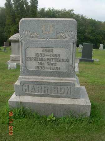 HARRISON, EUPHEMIA - Harrison County, Ohio   EUPHEMIA HARRISON - Ohio Gravestone Photos