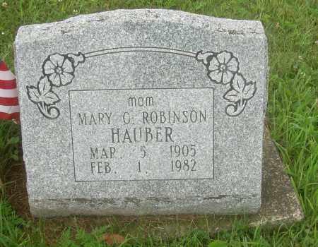 HAUBER, MARY O - Harrison County, Ohio | MARY O HAUBER - Ohio Gravestone Photos