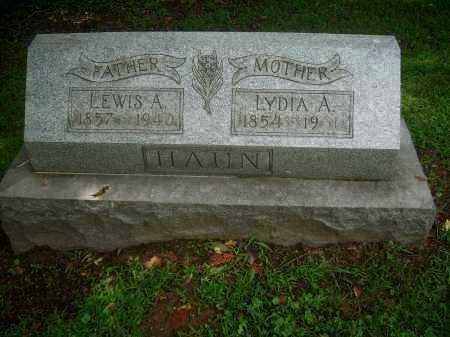 HAUN, LEWIS A - Harrison County, Ohio | LEWIS A HAUN - Ohio Gravestone Photos