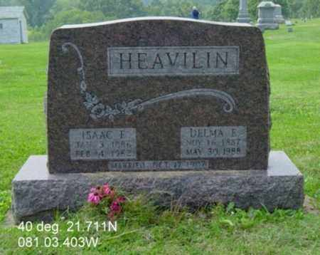 SALMON HEAVILIN, DELMA E. - Harrison County, Ohio | DELMA E. SALMON HEAVILIN - Ohio Gravestone Photos