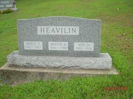 HEAVILIN, EVA D - Harrison County, Ohio | EVA D HEAVILIN - Ohio Gravestone Photos