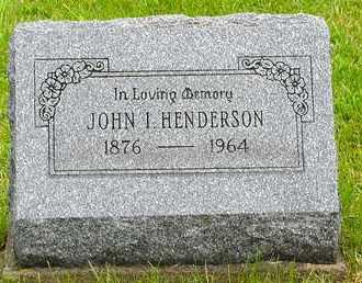 HENDERSON, JOHN INGRAM - Harrison County, Ohio | JOHN INGRAM HENDERSON - Ohio Gravestone Photos