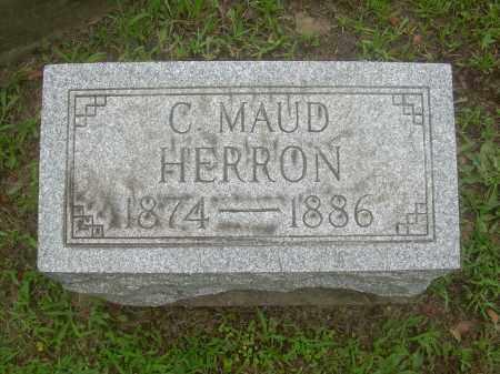 HERRON, C. MAUD - Harrison County, Ohio | C. MAUD HERRON - Ohio Gravestone Photos